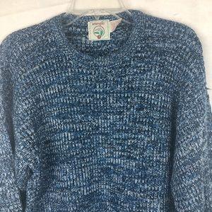 EUC-Vintage Wrangler 80s Unisex Pullover Sweater L